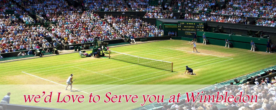 Tennis at Wimbledon - TST Cars Events