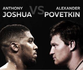 Anthony Joshua v Alexander Povetkin